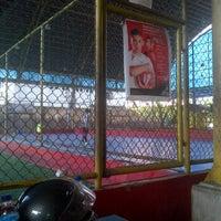 Photo taken at Sonic Futsal by RIZAL N. on 1/8/2012