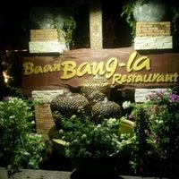 Photo taken at Baan Bang-la Restaurant by Aekapol T. on 12/31/2011