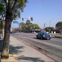 Photo taken at Bus Stop At Santa Monica/San Vicente by Ricky M. on 2/1/2012