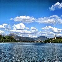 Photo taken at Blejsko Jezero / Lake Bled by Kotaro Y. on 5/3/2012
