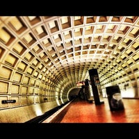 Photo taken at Capitol South Metro Station by angela n. on 11/24/2011