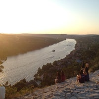 Photo taken at Covert Park at Mt. Bonnell by Daniel L. on 6/2/2012