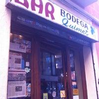 Foto tomada en Bar Bodega Quimet por Agnès R. el 3/10/2012