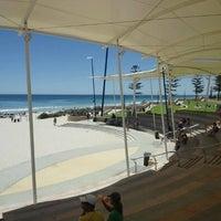 Photo taken at Scarborough Beach by J L. on 12/26/2011
