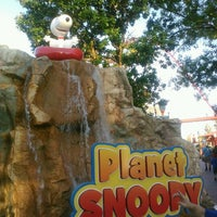 Photo taken at Camp Snoopy by Mike D. on 6/23/2012
