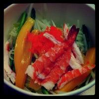 Photo taken at Kitaro Sushi by Carla G. on 11/22/2011