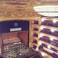 10/20/2011 tarihinde Rachel M.ziyaretçi tarafından Liceu Opera Barcelona'de çekilen fotoğraf
