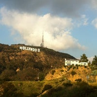 Photo taken at Hollywood Sign Vista Point by Alexey I. on 12/18/2011