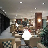 Photo taken at Emirates Business Lounge by John on 3/20/2012