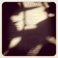 Photo taken at La Buvette by Danielle M. on 9/12/2011