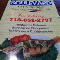 Photo taken at Boulevard Latin Cuisine by Kandie A. on 5/20/2012