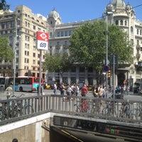 Photo taken at FGC Pl. Catalunya by German R. on 5/14/2012