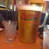 Photo taken at Boston's Restaurant & Sports Bar by Nicole B. on 5/20/2012