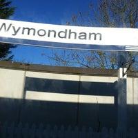 Photo taken at Wymondham Railway Station (WMD) by Snasus .. on 11/25/2011