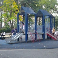 Photo taken at Central Park - Mariners' Gate Playground by Moises C. on 10/14/2011