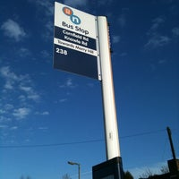 Photo taken at Bus Stop Knowle Road by danielle c. on 1/17/2011
