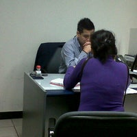 Photo taken at Banco de Credito BCP by Paul R. on 7/2/2012