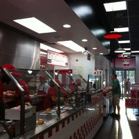 Photo taken at Five Guys by Sue E. on 8/18/2011