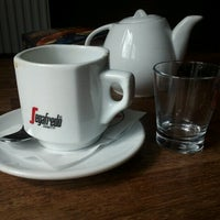 Photo taken at Cafetee by Marcin P. on 8/9/2012