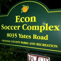 Photo taken at Econ Soccer Complex by Howard D. on 9/1/2011
