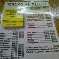 Photo taken at Tortas Al Fuego by Art of N. on 1/8/2012