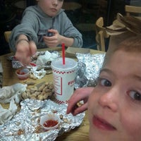 Photo taken at Five Guys by Justin T. on 1/22/2012