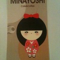 Photo taken at cafe de minayoshi by Yoora O. on 7/26/2011
