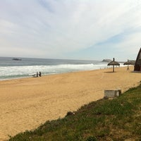 Photo taken at Sector 3 - Playa Reñaca by Natura A. on 10/6/2011