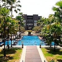 Photo taken at Novotel Palembang Hotels & Residence by Milly on 9/1/2011