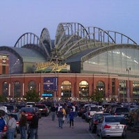 Photo taken at Miller Park by Stephanie A. on 10/16/2011