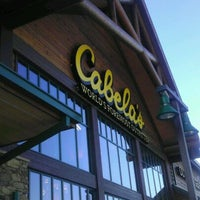 Photo taken at Cabela's by Celinda C. on 12/22/2011
