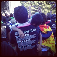 Photo taken at ROCK IN JAPAN FESTIVAL by Lu S. on 8/5/2012