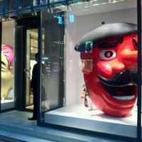 Photo taken at Maison Hermès by yuki y. on 4/18/2012