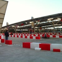 Photo taken at Karting Experience by Jonathan G. on 4/6/2012
