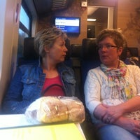 Photo taken at Trein Assen - Groningen by marit v. on 3/30/2012