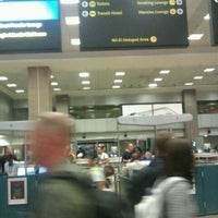 Photo taken at International Departures by Jay P. on 9/23/2011