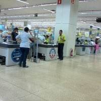 Photo taken at Carrefour by Elaine O. on 7/24/2012