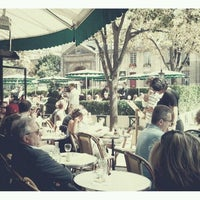 Photo taken at Les Deux Magots by ToughkidCST K. on 8/15/2011