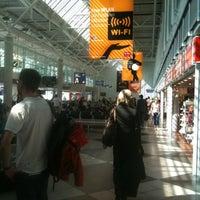 Photo taken at Air Berlin Check-In by Dmitriy V. on 7/30/2012