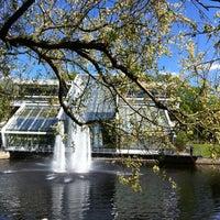 Photo taken at Kronvalda parks by Agnese B. on 5/14/2012