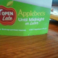 Photo taken at Applebee's by Kayla B. on 10/21/2011