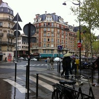 Photo taken at Place Maubert by Tony J. on 4/18/2012