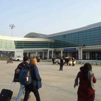 Photo taken at Lal Bahadur Shastri International Airport, Varanasi (VNS) by Pranav K. on 1/17/2012