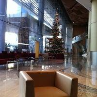 Photo taken at Kempinski Grand Hotel by fafi on 12/27/2011