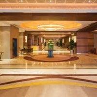 Photo taken at Sheraton Bandara Hotel by Aristyo B. on 3/8/2011