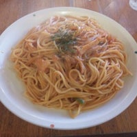 Photo taken at スパゲティハウス ナベ by Kima T. on 9/19/2011