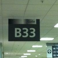Photo taken at Gate B33 by Pedro B. on 9/16/2011