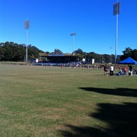 Photo taken at Coffs Coast Stadium by Andrew S. on 7/4/2012