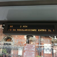Photo taken at Bus linea 60 by Giuditta M. on 3/13/2012