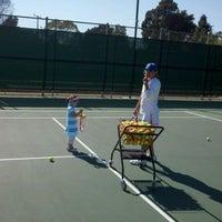 Photo taken at Santa Barbara Municipal Tennis Courts by Chad M. on 9/13/2012